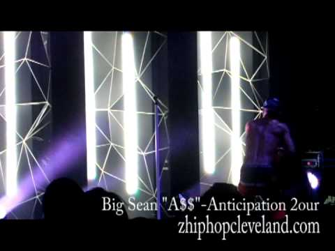"""Big Sean Performs """"A$$"""" - Anticipation 2our"""