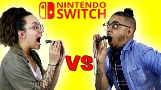 Couples Nintendo Switch Challenge! SUBSCRIBE If You Are New 👉 https://goo.gl/AHvtSc & Don't forget to join the NOTIFICATION FAMILY! 💕 Today We decided to pla...