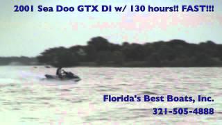 3. 2001 Sea Doo GTX DI w/ 130 Hours! FAST!!!