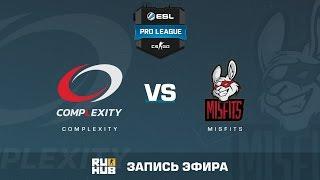 Complexity vs. Misfits - ESL Pro League S5 - de_cache [Flife]