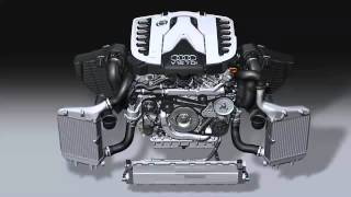 Motorul diesel V12 de 6.0L TDI de la AUDI