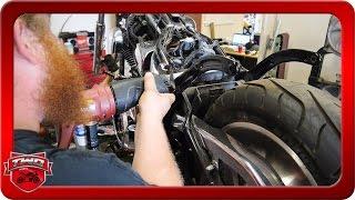 8. 2006 Harley Davidson Softail Deuce Bobber Conversion Part 2
