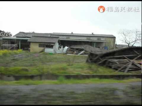 県警による双葉町・浪江町での捜索(4月25日)[3]