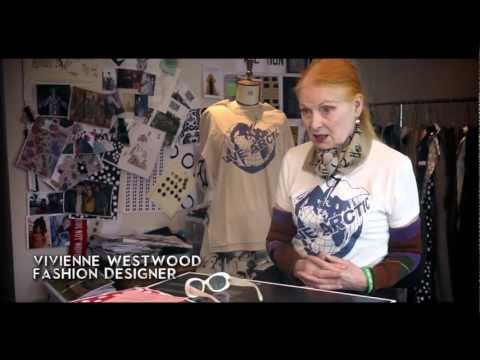 Watch: Vivienne Westwood Readies to Send a Catwalk Design to the North Pole