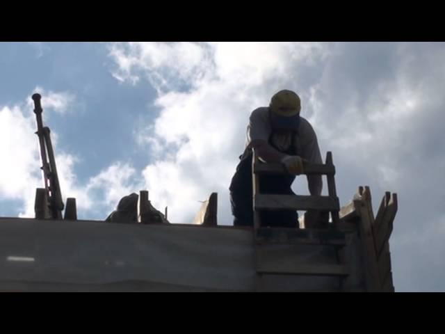 Часть 4. Строительство мансардной  крыши.