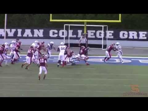 Football Highlights (10/18/14 at Moravian)