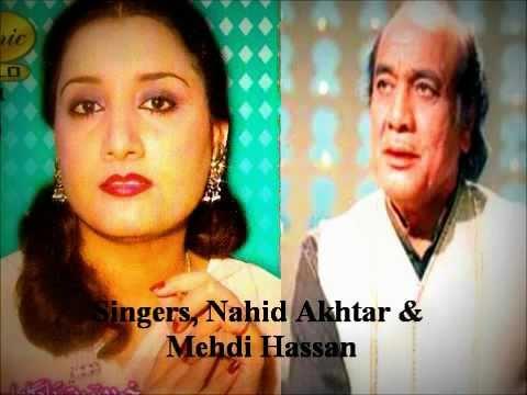 Urdu Zaboor - Singers, Naheed Akhtar & Ustad Mehdi Hassan Gospel Songs, Zaboor.