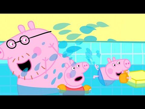 Schwimmen mit Peppa und ihrer Familie | Cartoons für Kinder | Peppa Wutz Neue Folgen