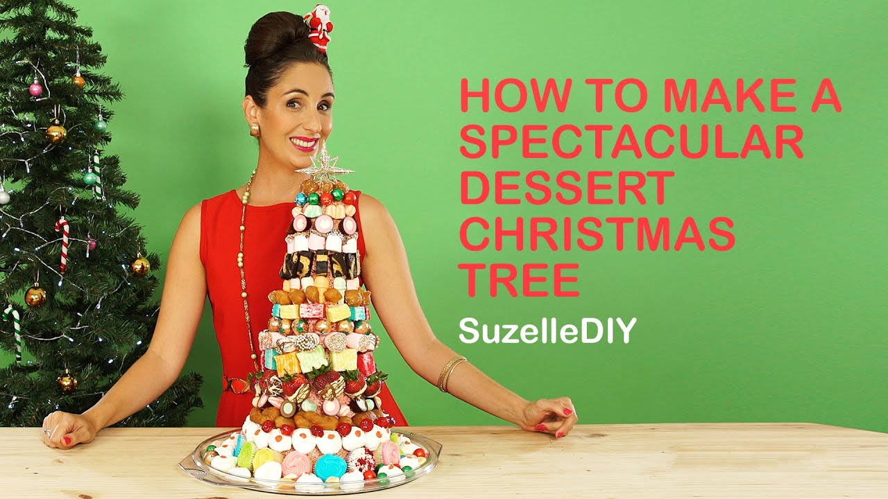 How to make a Spectacular Dessert Christmas Tree-graphic