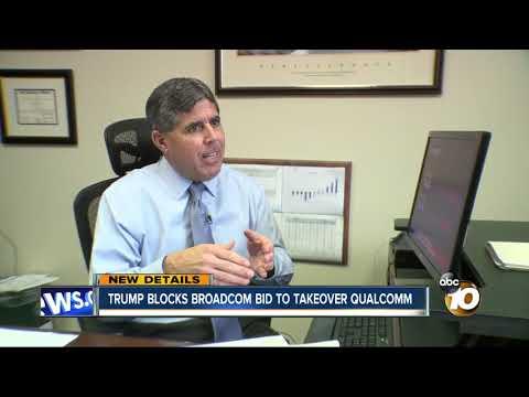 Trump blocks Broadcom bid to takeover Qualcomm