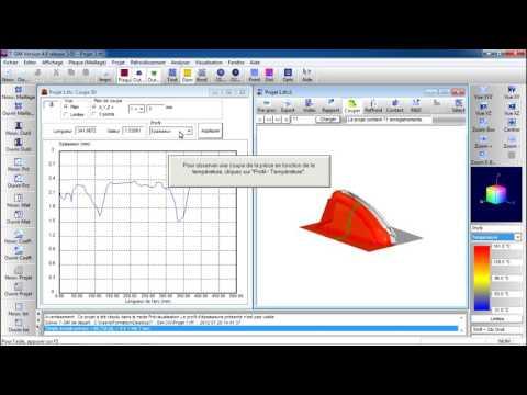 Simulation du thermoformage avec T-SIM
