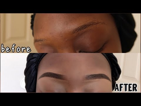 EASY & CHEAP EYEBROW TUTORIAL || IN DEPTH! (2018)