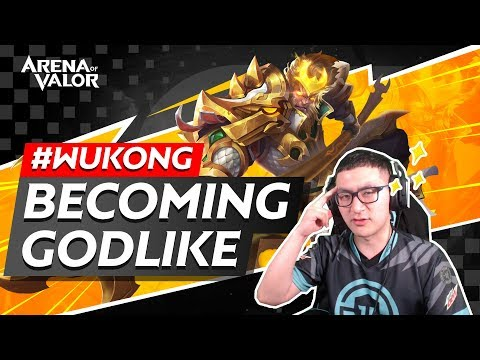 Wukong - Becoming Godlike | Arena of Valor