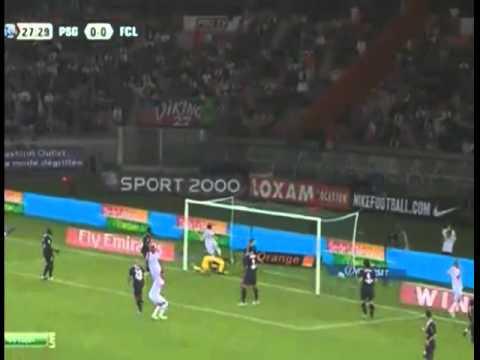 Paris Saint Germain vs Lorient 0 - 1  All Highlights 06/08/2011