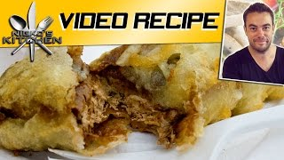 DEEP FRIED SNICKERS BAR - VIDEO RECIPE - YouTube