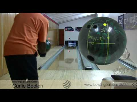 Brunswick Anaconda Bowling Ball Reaction Video