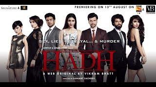 Hadh Promo | New Web Series | Releasing 10th August | Vikram Bhatt
