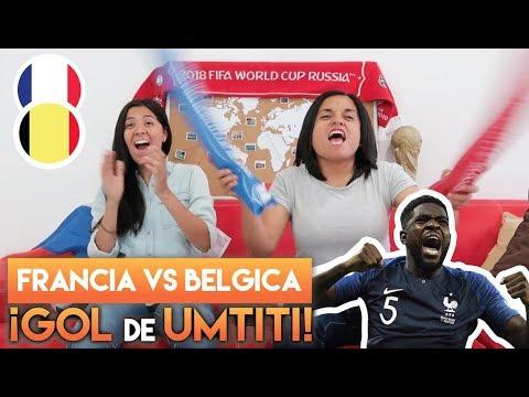 REACCIÓN A LA SEMIFINAL ENTRE FRANCIA VS BÉLGICA. ¡¡UMTITI!!   Dúo Dinámico