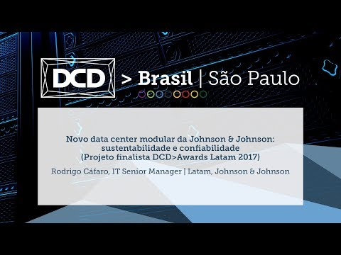 Novo Data Center Modular da Johnson & Johnson: sustentabilidade e confiabilidade