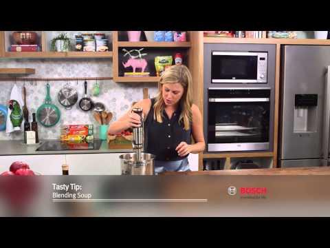 Hand Blender Blending Soup