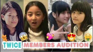 Video TWICE Members First Audition (Pre-Debut) MP3, 3GP, MP4, WEBM, AVI, FLV September 2018