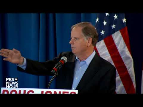 WATCH: Doug Jones holds news conference after upset win in Alabama
