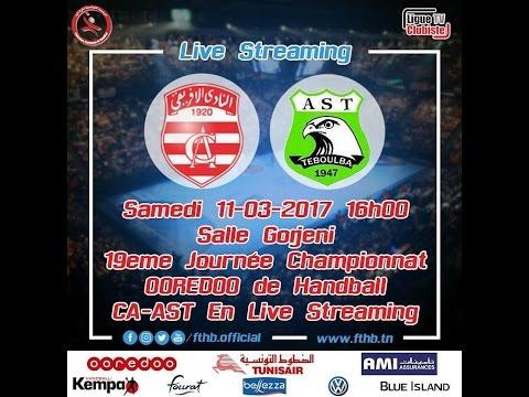 Handball 19ème journée :  CA-AST