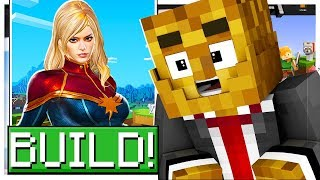*THE AVENGERS* BUILD YOUR FAVORITE SUPERHERO! - MINECRAFT MODDED DC SUPER HERO CREATOR