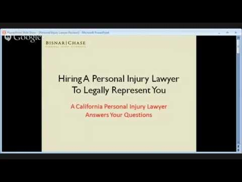Los Angeles Personal Injury Attorney Reviews - Hiring A Personal Injury Lawyer