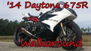 4. 2014 Triumph Daytona 675R Walkaround