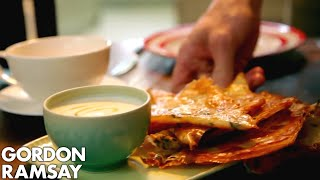 Crispy Filo with Honey Yogurt | Gordon Ramsay by Gordon Ramsay