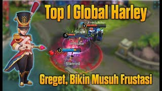 Video Ini Baru Top 1 Global Harley Yang Super Ngeselin Bikin Musuh Frustasi [Pro Player Harley] MP3, 3GP, MP4, WEBM, AVI, FLV Oktober 2018