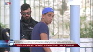 ISRAELI EMBASSY GUARD STABBED IN JORDAN, SECURITY CABINET CONSIDERS LOSING TEMPLE MOUNT METAL ...