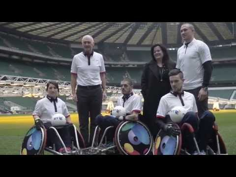 Mike Brown looks forward to the World Wheelchair Rugby Challenge