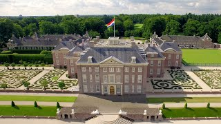 Apeldoorn Netherlands  city images : Paleis Het Loo in Apeldoorn, The Netherlands (4K)