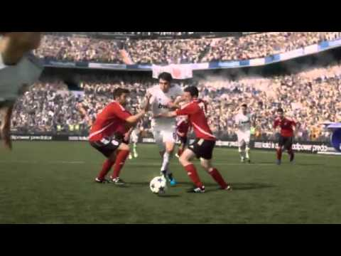 Publicidad Adidas 2011 - Is All In con Mourinho, Messi, Kaka, Van Persie, Nasri, Nani, Berbatov (видео)
