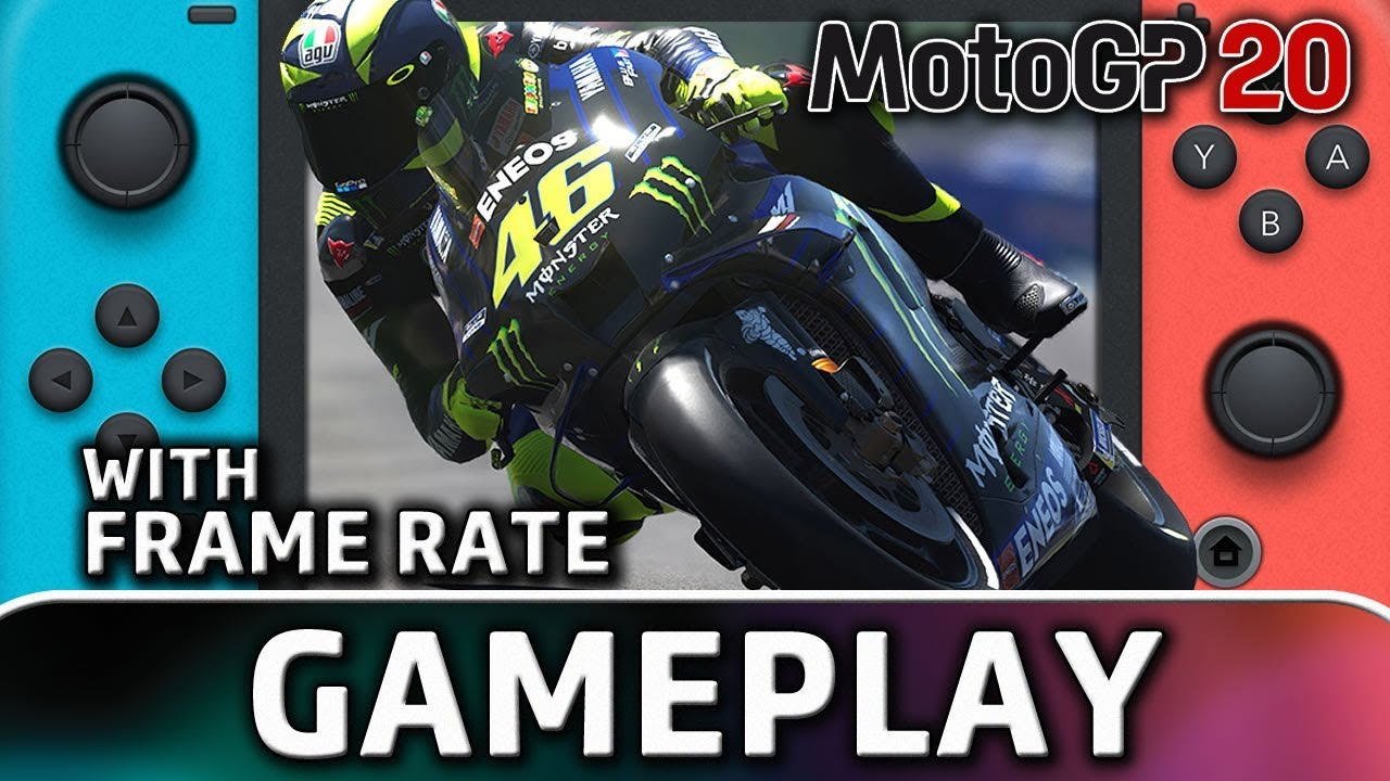 MotoGP 20 | Nintendo Switch Gameplay and Frame Rate