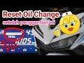 Cara reset indikator oil change Vario