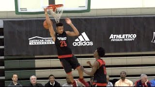 46cb0435d Kevin Knox 4K Highlights - McDonald s All-American Practice