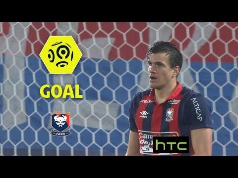 Goal Ivan SANTINI (61') / SM Caen - Olympique Lyonnais (3-2)/ 2016-17