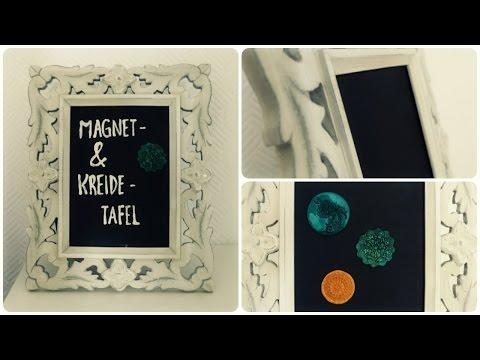 Magnet- & Kreidetafel * DIY * Magnetic Chalkboard [eng sub]