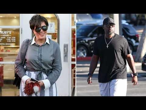 Kris Jenner And Boyfriend Corey Gamble Attending Nori
