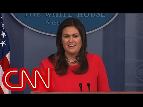 Sarah Sanders Denies Trump Said Russia Not Targeting US