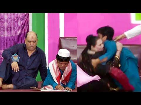 Best Of Vicky Kodu and Shazeb Mirza and Shokat Rangeela Stage Drama Comedy Clip 2020