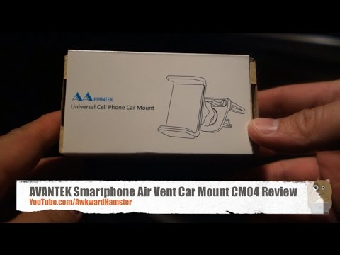 AVANTEK Smartphone Air Vent Car Mount CM04 Review