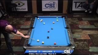 2014 CSI USBTC 8 Ball:  Butler Vs Helmer