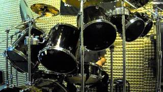 Premier Elite Drums Remo Heads Toms: CS Black Dot Snare: Powerstroke 3 Clear CS Dot Bass: Powerstroke 3 Clear Recorded ...