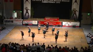 B a Lady Showteam - Deutsche Meisterschaft 2013