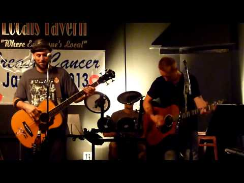 Blue Tang Bandits- Long Haired Country Boy (cover)-HD-Local's Tavern-Wilmington, NC-10/4/13