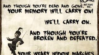 Video Welcome To The Black Parade - My Chemical Romance Lyrics download in MP3, 3GP, MP4, WEBM, AVI, FLV Mei 2017